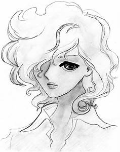 Anime Girl Sketch Tumblr How To Draw Curly Anime Hair For ...