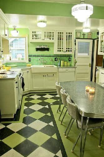 ideas  flooring  pinterest kitchen retro