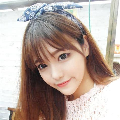 korean hairstyle bangs  ladies kavenyoucom