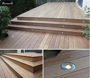 Eclairage Piscine Bois : les 25 meilleures id es concernant terrasse bois exotique ~ Edinachiropracticcenter.com Idées de Décoration