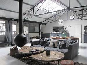 Deco Industrielle Atelier : oser le m lange des styles blog izoa ~ Teatrodelosmanantiales.com Idées de Décoration