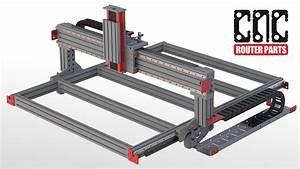 PRO4848 4' x 4' CNC Router Kit CNCRouterParts