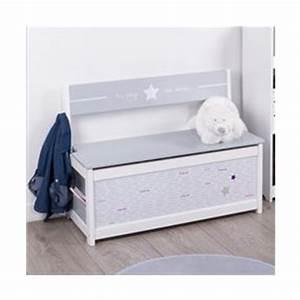 Banc Coffre Bois : banc coffre jouets pour enfants en bois les douces nuits de ma linge de maison ~ Teatrodelosmanantiales.com Idées de Décoration