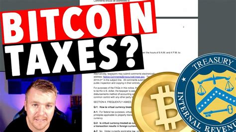The update provides clarification on who must answer yes to the irs' crypto question and when it is. BITCOIN TAXES? IRS? - YouTube
