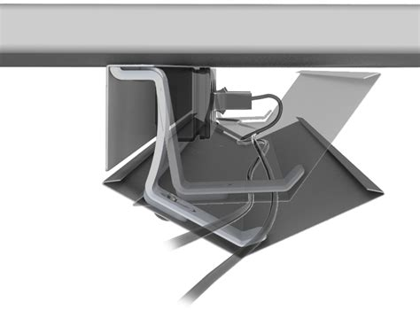 cable holder under desk under desk cable tray under desk cable holder view