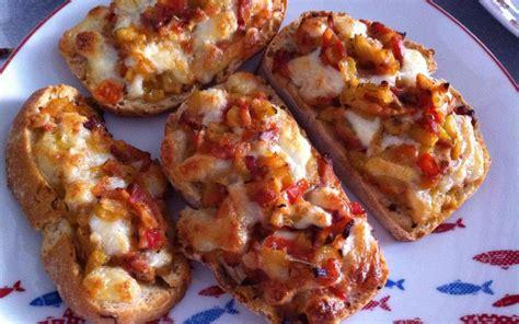planche de cuisine recette tartine tomate courgette pas chère et simple