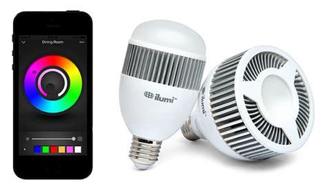 ilumi light bulb ilumi tesla s smartest light bulb thinkgeek