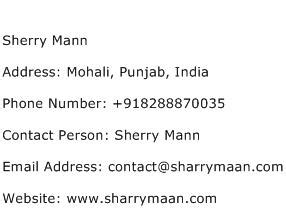 horace mann phone number sherry mann address contact number of sherry mann
