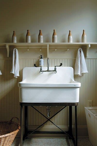laundry room wall mounted sink stand  pretty