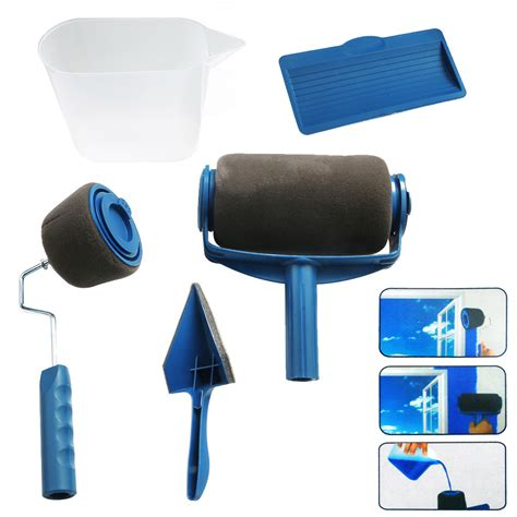 Paint Roller Pro Edger Brush Handle Room Wall Painting