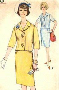 1960s Womens Suit Pattern - Vintage McCall's 6052 - Jackie ...