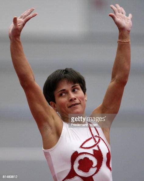 oksana chusovitina  germany celebrates  winning