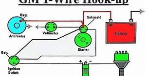 3 Wire Bosch Alternator Wiring Diagram