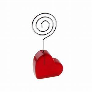 Marque Place Pas Cher : porte nom c ur acrylique m tal rouge blanc drag e d 39 amour ~ Melissatoandfro.com Idées de Décoration