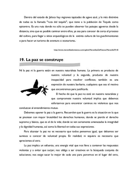 Antología De Lecturas Leemos Mejor Día A Día Sexto Grado