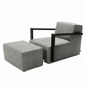 Tom Tailor Sessel : sessel lazy antiklederoptik mit hocker grau tom tailor online kaufen bei woonio ~ Indierocktalk.com Haus und Dekorationen