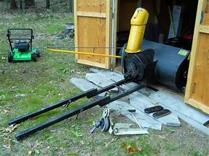 44 Inch Snow Blower Attachment For Cub Cadet Garden Tractor For Sale In Lakewood Club  Michigan