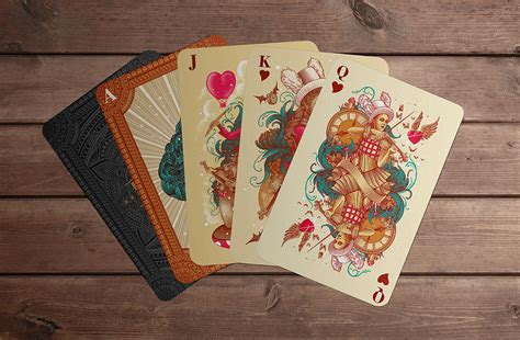 Maybe you would like to learn more about one of these? 10 Most Beautiful Playing Card Deck Designs