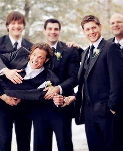 Wow, thanks Jensen, for ALL that help :D #PadaleckiWedding ...