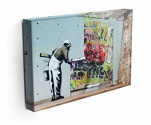 17+ best images about Banksy Canvas Prints and Paintings ...