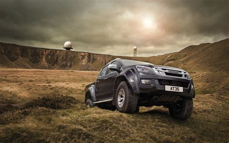 wallpaper arctic trucks isuzu  max  truck cars