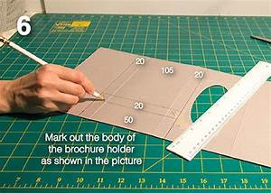 How To Make Your Own Flyers For Your Business Diy Make Your Own Brochure Holder From A Tissue Box All