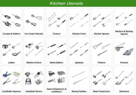 nom ustensiles de cuisine