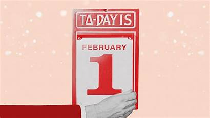 February Month Calendar Date Glamour Armstrong Roberts