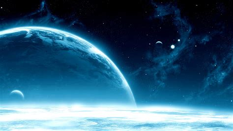 Download Wallpaper 2560x1440 Planets Space Open Space