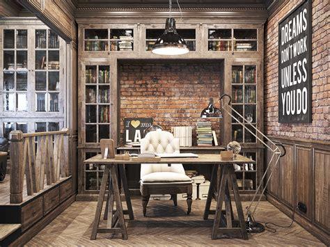 vintage office   private residence denis krasikov