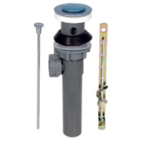 replacement pop up drain assembly with overflow chrome