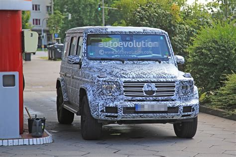 2019 Mercedes-benz G-class (w464) Expected To Debut At