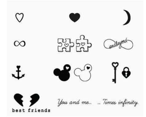 Best Friend tattoos Tatuaje novios Bff tatuajes