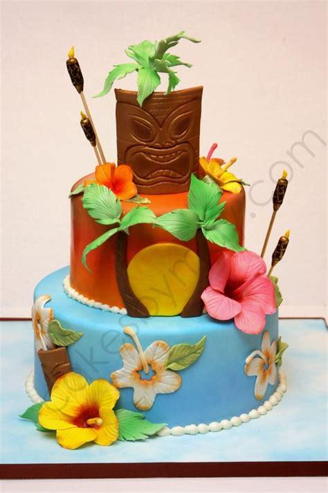 images  hawaiian birthday cake ideas
