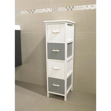 bricorama salle de bain meuble jersey 4 tiroirs blanc gris meuble de salle de bain meuble de salle de bain salle