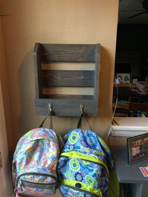 backpack wall ideas  pinterest backpack