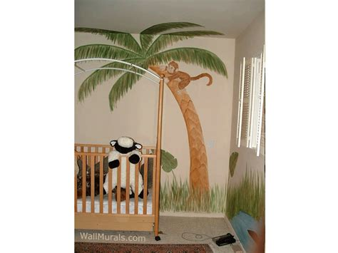 jungle wall murals examples  jungle theme muralswall