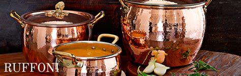 ruffoni italy copper cookware pots pans serveware