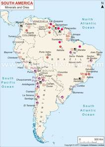 South America Resources Map