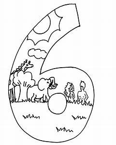 7 Days Of Creation Coloring Pages - Coloring Home
