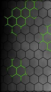 Honeycomb Green galaxy s4 s5 Wallpapers HD 1080x1920