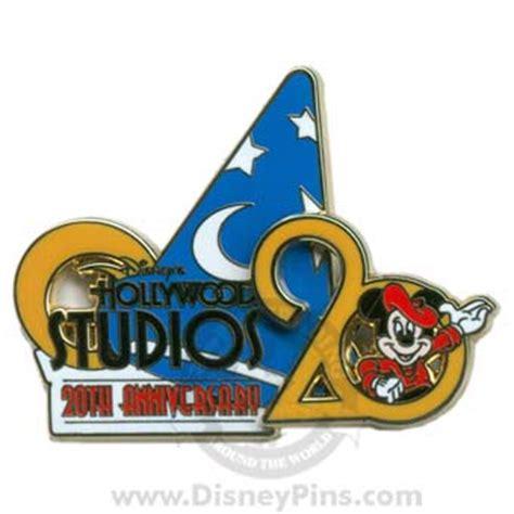 disney hollywood studios pin anniversary