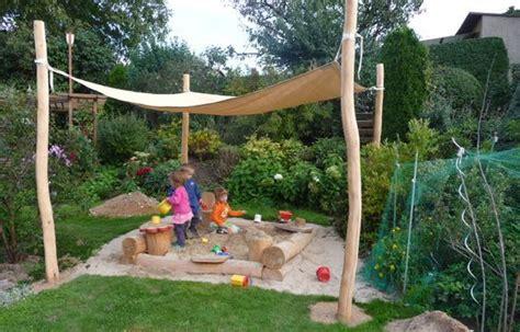 Sonnenschutz Für Den Garten by Sonnensegel Sandkiste Buddelkasten Garten