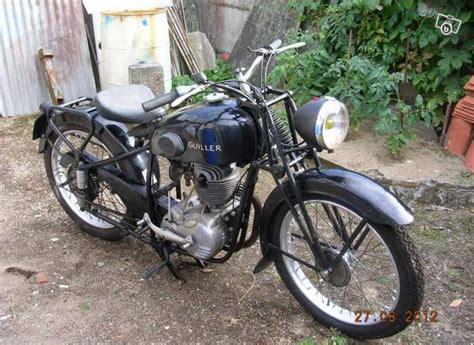 moto de collection fran 231 aise guiller 233 e 1954 moteur 125 type 4 temps de marque amc