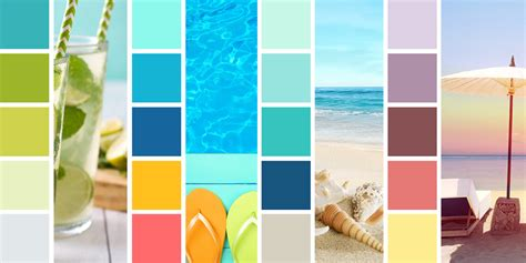 summer color palette summer color schemes to brighten your seasonal designs