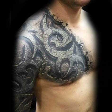 unbelievable tattoos  men inconceivable ink design
