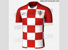 Kroatien WM 2018 Heimtrikot geleakt Nur Fussball