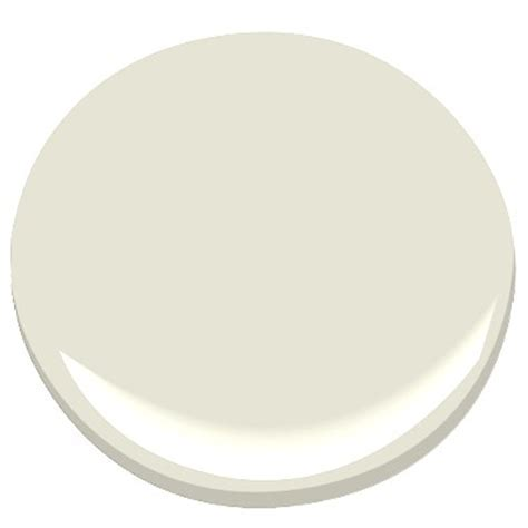 4 White/Grey Neutral Paint Colors from Benjamin Moore