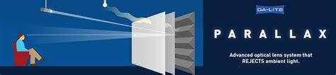 parallax da lites  ambient light rejecting projector