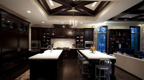 Living Room Colors Photos by 22 Beautiful Kitchen Colors With Dark Cabinets Home